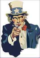 Wanted - Dead or Alive - World's Greatest Terrorist - Uncle Sam